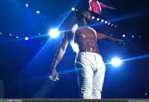 Usher Omg Tour White Pants