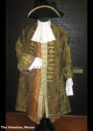 Venetian Mens Costume Sage
