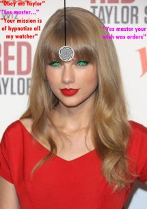Taylor Swift Hypnosis Must Obey