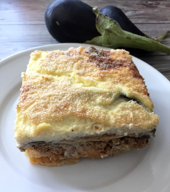 Moussaka...this Greek traditional recipe is loaded with delicious flavours; you won't regret making this dish