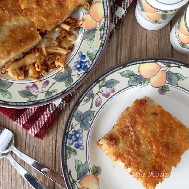 Vegan pastichio (Νηστίσιμο παστίτσιο)