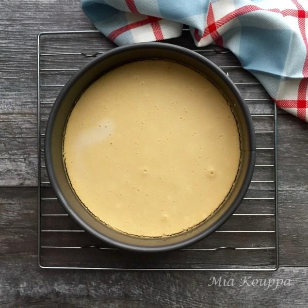 Melomakarona cheesecake (Μελομακάρονα τσιζκέικ)