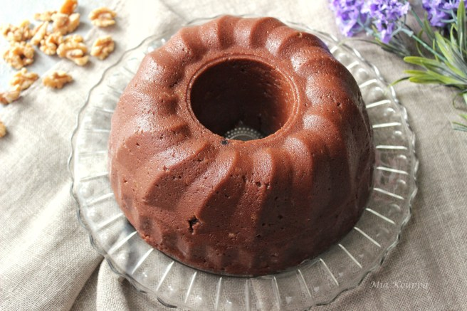 Chocolate halva (Χαλβάς με σοκολάτα)