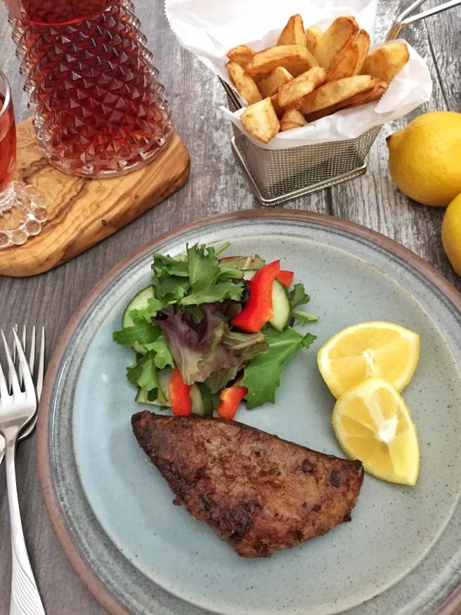 Fried liver (Συκώτι τηγανητό)