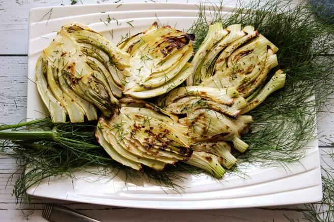 Grilled fennel (Μάραθο στην σχάρα)