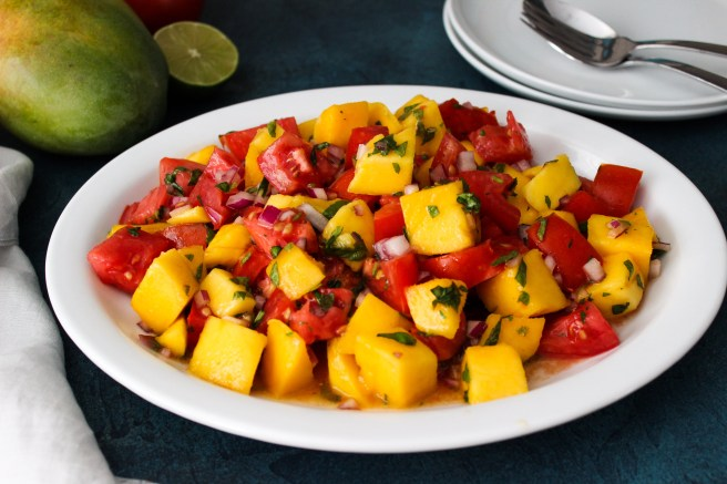 Tomato and Mango salad