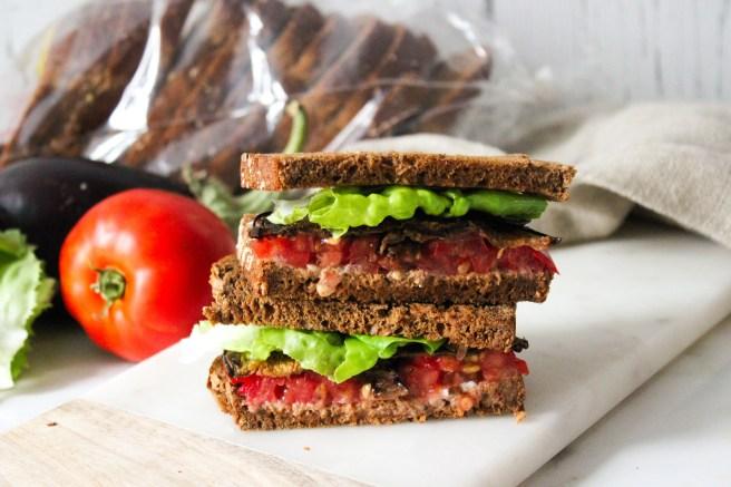 Eggplant BLT Sandwich