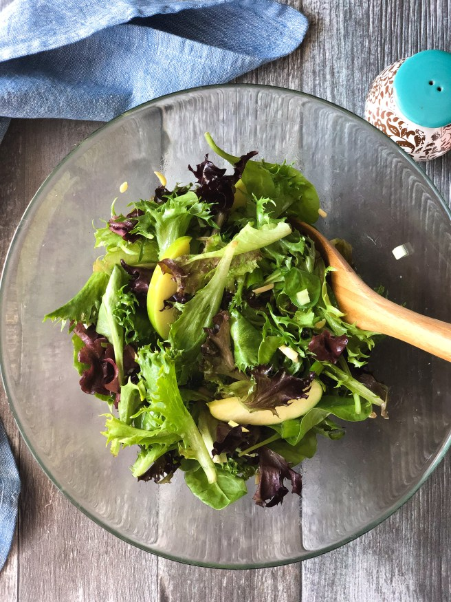 Apple and almond salad