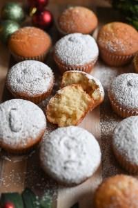 Vasilopita cupcakes