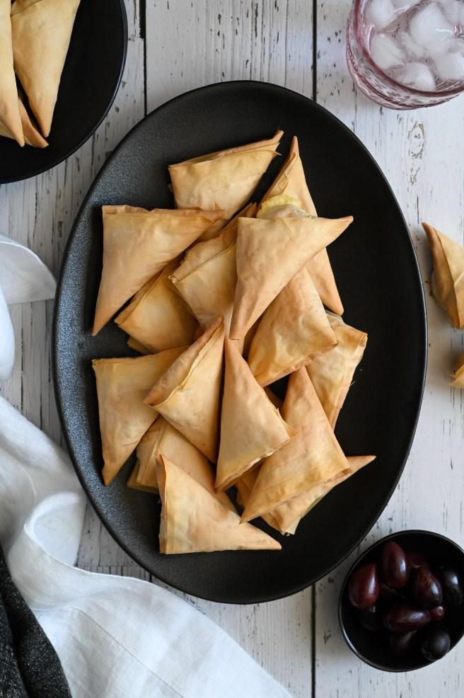 Tyropitakia or Cheese Pies