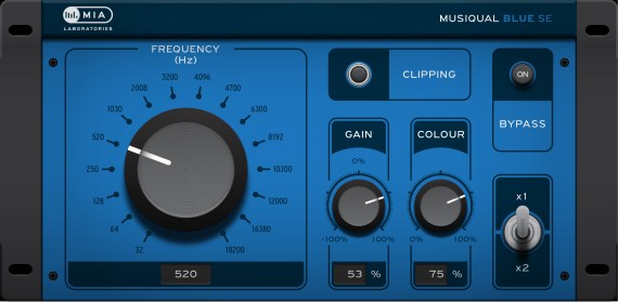 MIALABORATORIES Musiqual BLUE SE-DIPSLAY-01