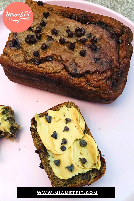 Cake choco-banane et beurre de cacahuète – Paléo/Céto