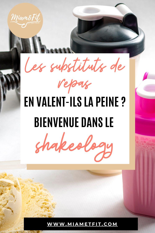 Les substituts de repas en valent-ils la peine ? Bienvenue chez Shakeology !