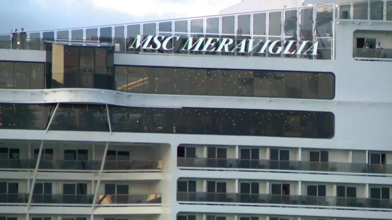 MSC Cruise Ship Returns To Miami After Security Staff Pepper ...