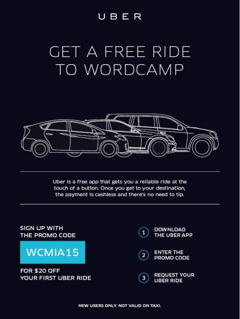 Uber - WordCamp Miami
