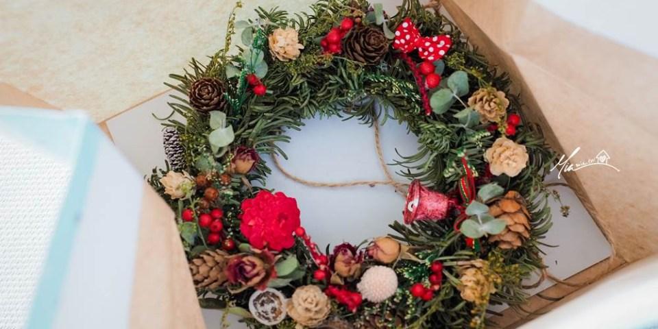 12月。周末記事   聖誕花圈製作