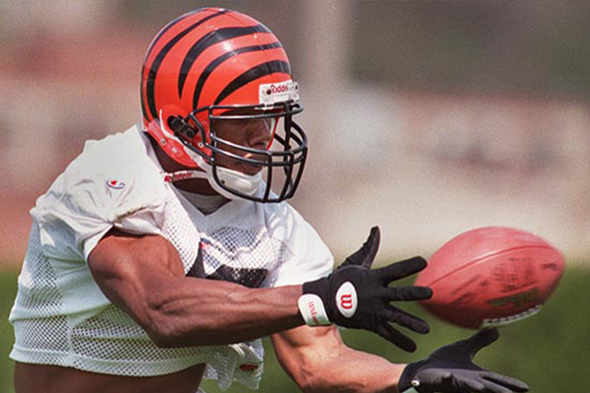 Deland McCullough brief professional career playing for the Bengals