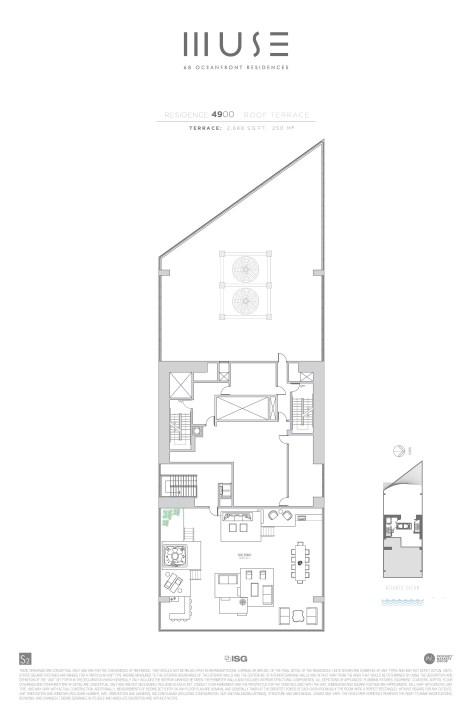 MUSE PH 50 Roof Floor plan
