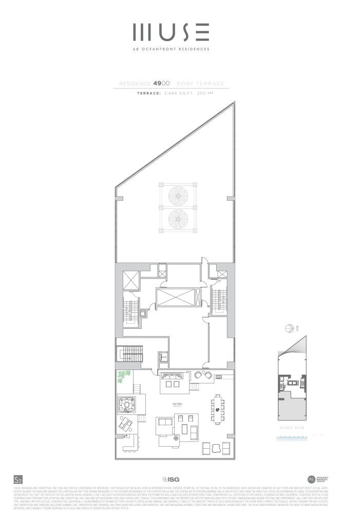 MUSE PH 50 Roof Floor plan