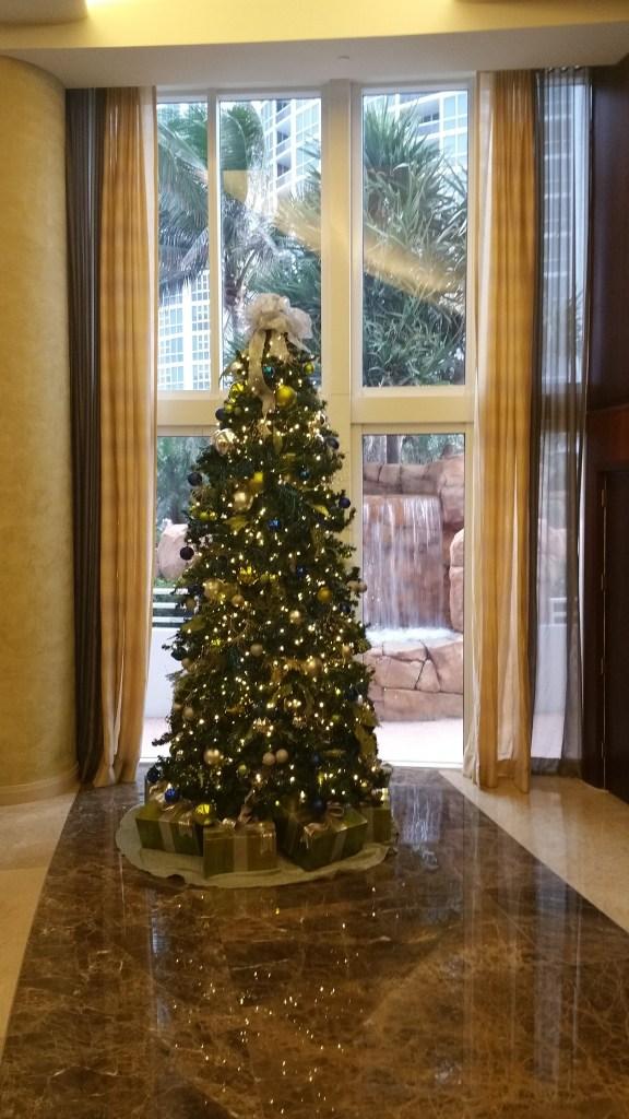 Trump PALACE Christmas Tree