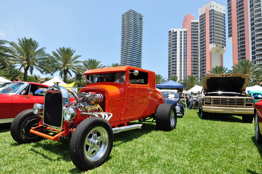Heritage Park car show Sunny Isles 2016