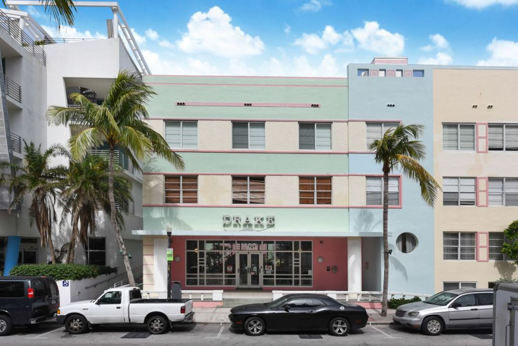 Drake Ocean Drive South Beach Miami