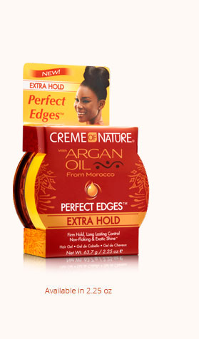 Creme of Nature Argan Oil Perfect Edges Extra Hold - 2.25 oz
