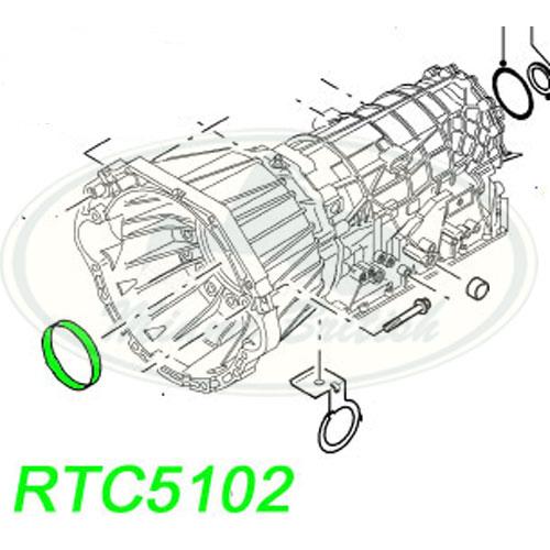 LAND ROVER GASKET AND SEAL TRANSMISSION RANGE P38 95-02