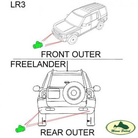LAND ROVER PARKING AID DISTANCE SYSTEM SENSOR LR3