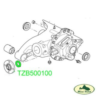 LAND ROVER DIFFERENTIAL REAR DRIVE PINION OIL SEAL RANGE