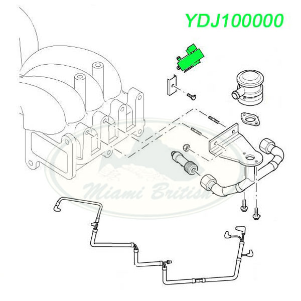 LAND ROVER SECONDARY INJECTION SOLENOID RANGE 99-02 P38
