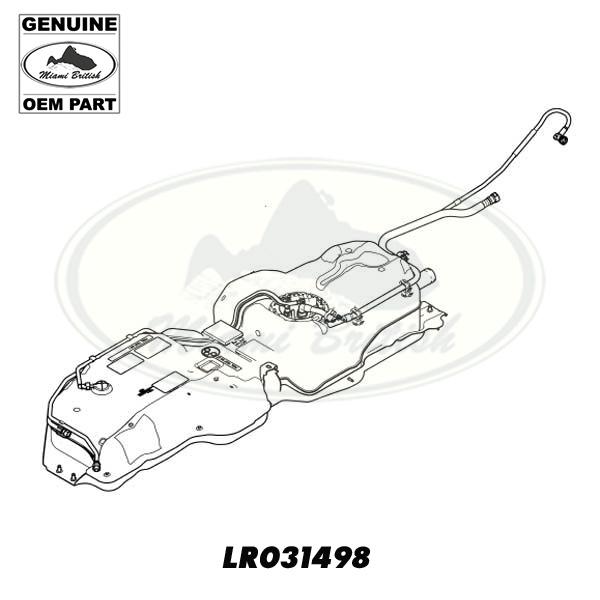 LAND ROVER FUEL TANK ASSY LR3 LR031498 OEM