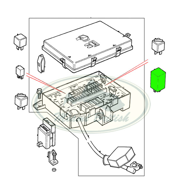 LAND ROVER AIR SUSPENSION RELAY RANGE P38 95-02 ANR4652