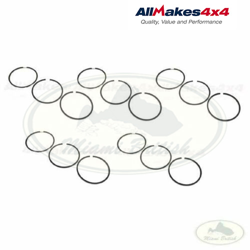 LAND ROVER PISTON RING SET x5 DISCOVERY 2 DEFENDER Td5