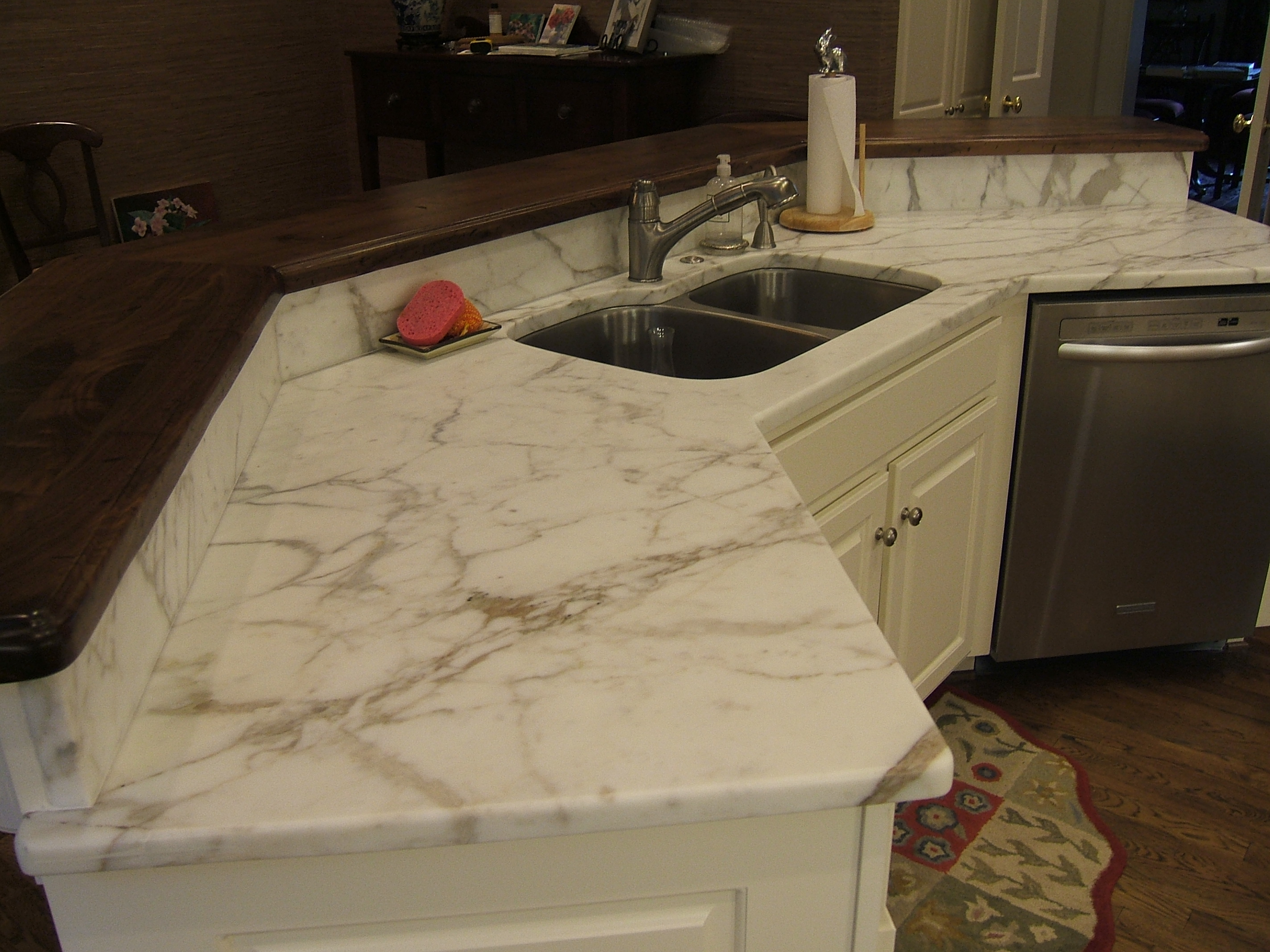 granite slab for kitchen wall shelf kitchens – miami circle marble & fabrication