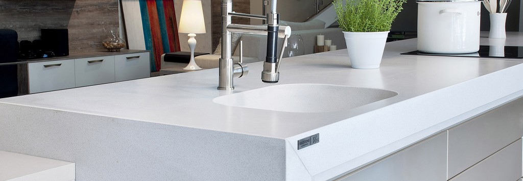 White North Silestone  Miami Circle Marble  Fabrication