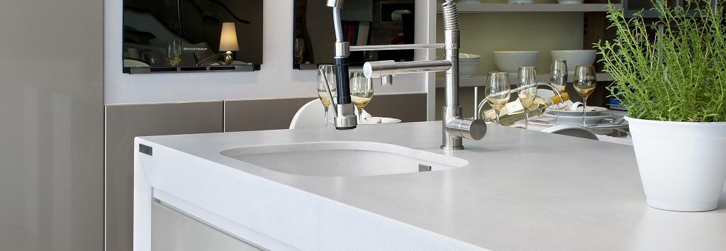 White Storm Silestone  Miami Circle Marble  Fabrication