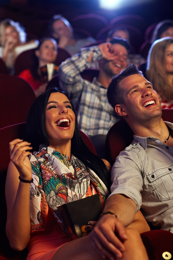 How taking your date to a comedy show wil get you laid