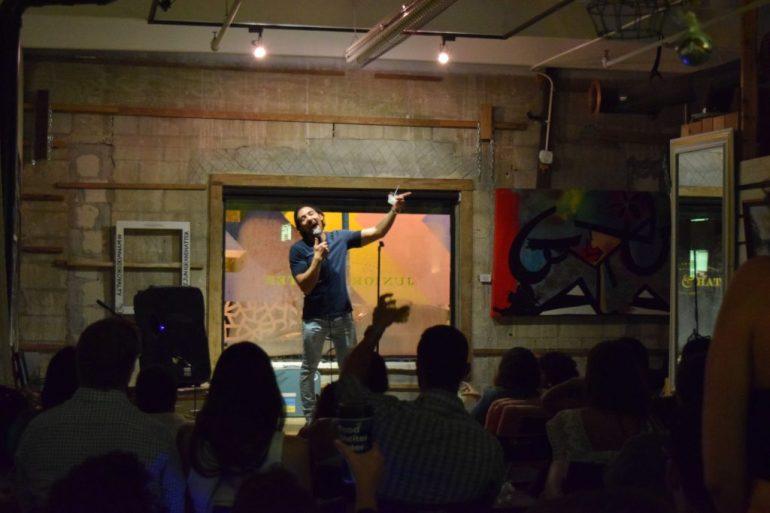Junior & Hatter Artwalk Comedy Show
