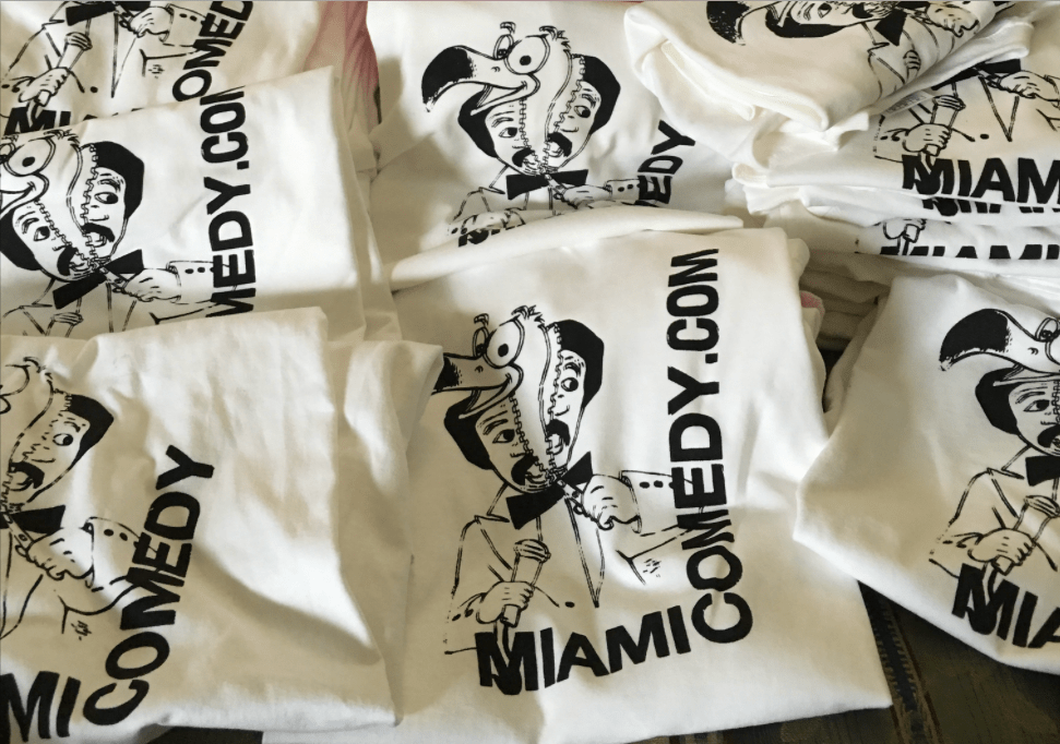 Miami Comedy T Shirts Giveaway