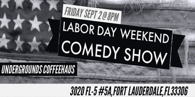 Labor Day Weekend Comedy Show – Friday