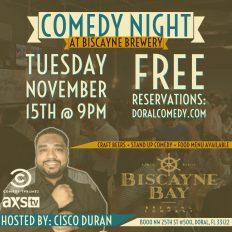 Comedy in November