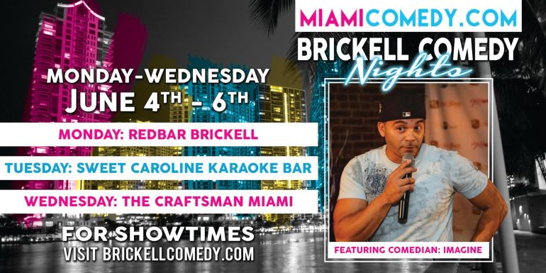 brickell comedy nights