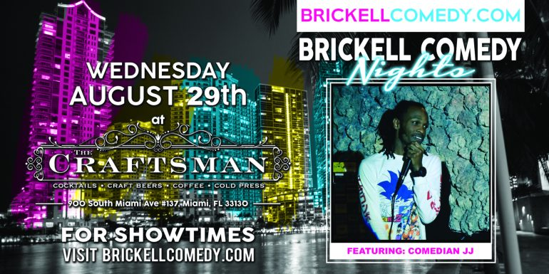 Brickell Comedy Night Comedian JJ