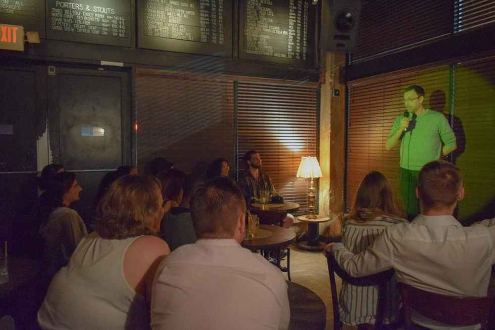corner comedy night