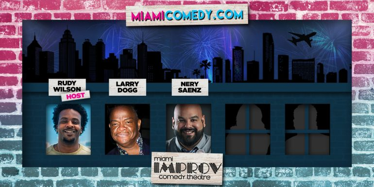 From Atlanta to Miami Comedy Show Rudy Larry Nery(2160x1080 DESIGN)