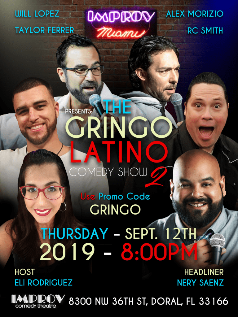 Gringo Latino Comedy Night at Miami Improv