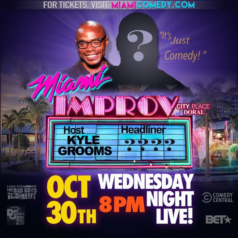 Wednesday Night Live Mystery Banner box