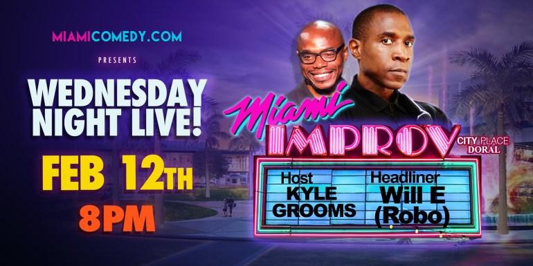 Wednesday Night Live Comedian Will E Robo