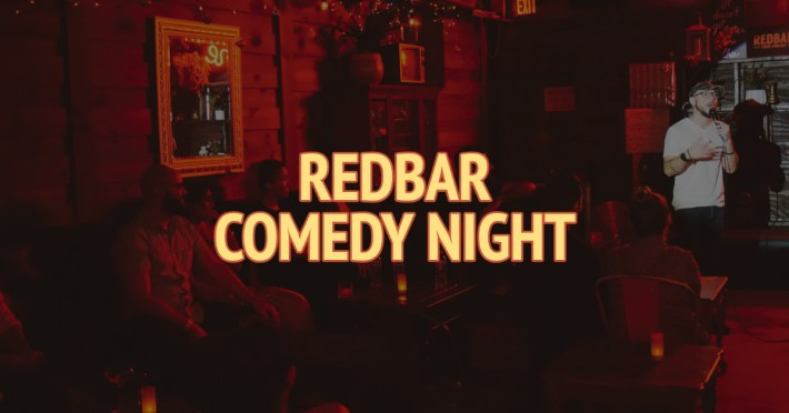 Redbar Comedy Night Ads Copy